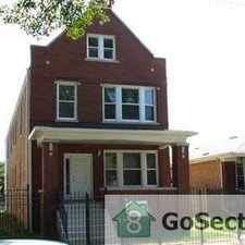 Rental info for *** BEAUTIFUL 3 BEDROOM UNIT - READY NOW FOR RENT @ 118TH & INDIANA *** in the West Pullman area
