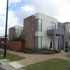 Rental info for Stunning & Stylish Ex Display Home in the Melbourne area