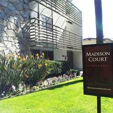 Rental info for Madison Court Apartments in the Pasadena area