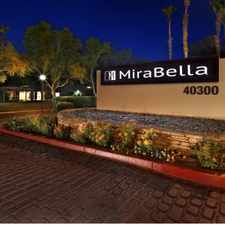 Rental info for Mirabella