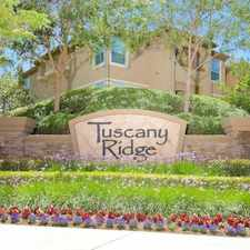 Rental info for Tuscany Ridge