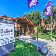 Rental info for Belinda Apartment Homes in the Anaheim area