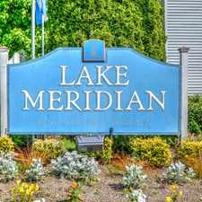 Rental info for Lake Meridian Apartment Homes