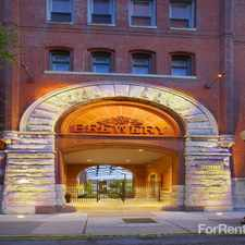 Rental info for Brewery Apartments, The in the St. Louis area