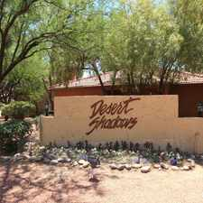 Rental info for Desert Shadows Apartments in the Casas Adobes area