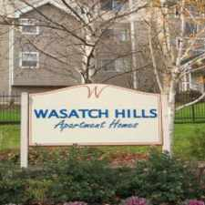 Rental info for Wasatch Hills Apartments