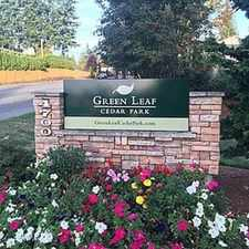 Rental info for Green Leaf Cedar Park