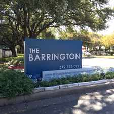 Rental info for Barrington at Park Place
