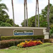 Rental info for Landings at Cypress Meadows