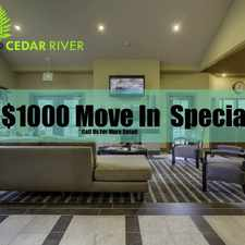 Rental info for The Preserve at Cedar River