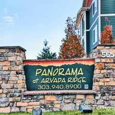 Rental info for Panorama at Arvada Ridge
