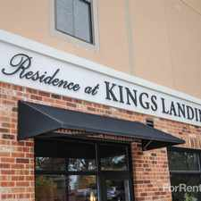 Rental info for Kings Landing