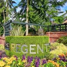 Rental info for The Regent at Bellevue Way