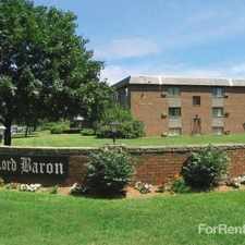 Rental info for Lord Baron Apartments in the Burlington area