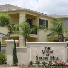 Rental info for Villas at Spring Hill in the Spring Hill area