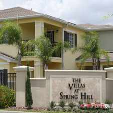 Rental info for Villas at Spring Hill