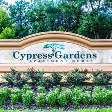 Rental info for Cypress Gardens Apartment Homes