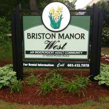 Rental info for Briston Manor West