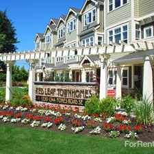 Rental info for Red Leaf Townhomes