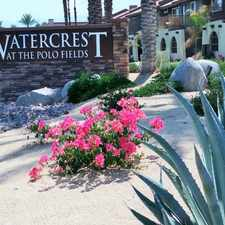 Rental info for Watercrest at the Polo Field