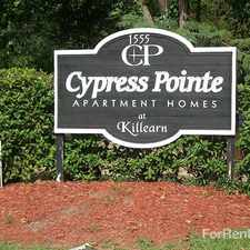 Rental info for Cypress Pointe Apartments