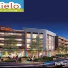 Rental info for Cielo South Lamar