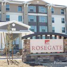 Rental info for Rosegate in Draper