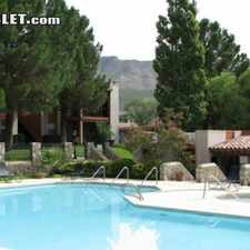 Rental info for One Bedroom In West El Paso in the Mission Hills South area