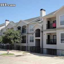 Rental info for Two Bedroom In Rockwall County in the Garland area