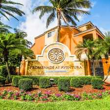 Rental info for Promenade at Aventura