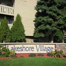 Rental info for Lakeshore Village Apartments in the Racine area