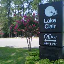 Rental info for Lake Clair Apartments