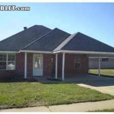 Rental info for Three Bedroom In Rapides (Alexandria) in the Lafayette area