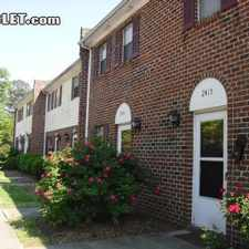Rental info for Two Bedroom In Chesapeake County in the Cahoon Plantation area