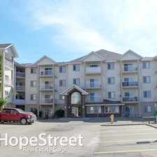 Rental info for 245 Edwards Drive SW - 2 Bedroom Apartment for Rent in the Ellerslie area