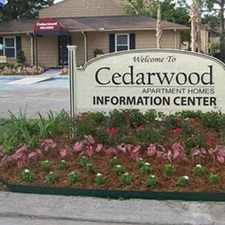 Rental info for Cedarwood Apartments in the Terrytown area