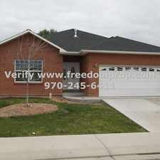 Rental info for 4 Bedroom House with living room and family room!