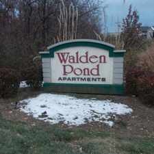 Rental info for Walden Pond Apartments