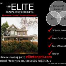 Rental info for 511 Chester Pike #3
