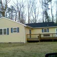 Rental info for Beautiful home in James Store available now