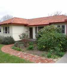 Rental info for House full of character in the Perth area