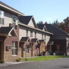 Rental info for 5 Bedroom Townhomes built for Students In Stevens Point Wisconsin!