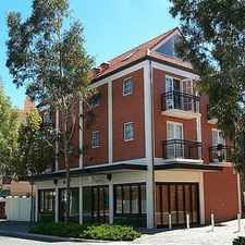 Rental info for CITY LUXURY LIVING - CENTRALLY LOCATED 2BRM 1BTH UNFURNISHED in the West Perth area