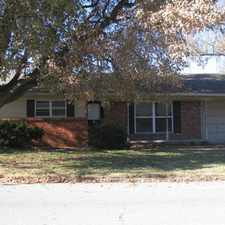 Rental info for 4 Bedroom 1.5 Bath Close to both hospitals!