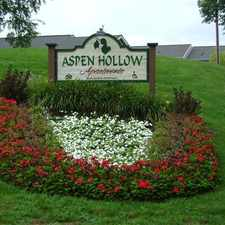 Rental info for Aspen Hollow Apartments