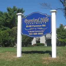 Rental info for Branford Hills Apartments