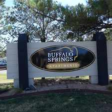 Rental info for Buffalo Springs