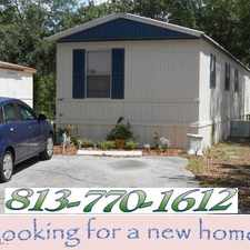Rental info for North Rome Mobile Home in the Tampa area