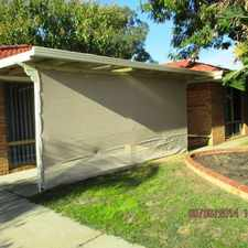 Rental info for GOOD SIZED FAMILY HOME! in the Perth area
