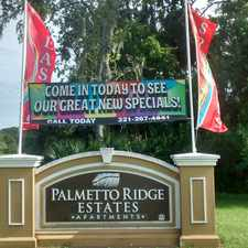Rental info for Palmetto Ridge Apartments in the Titusville area